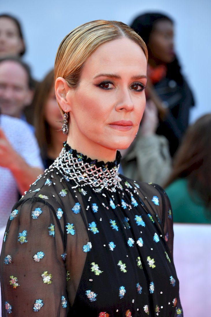 """Sarah Paulson attends """"The Goldfinch"""" premiere / Photo:Getty Images"""