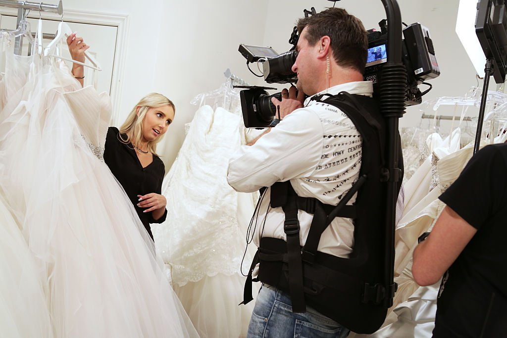 Image Source: Getty Images/Toronto Star via Getty Images/Anne-Marie Jackson | Behind the scenes photo from Say Yes to the Dress Canada