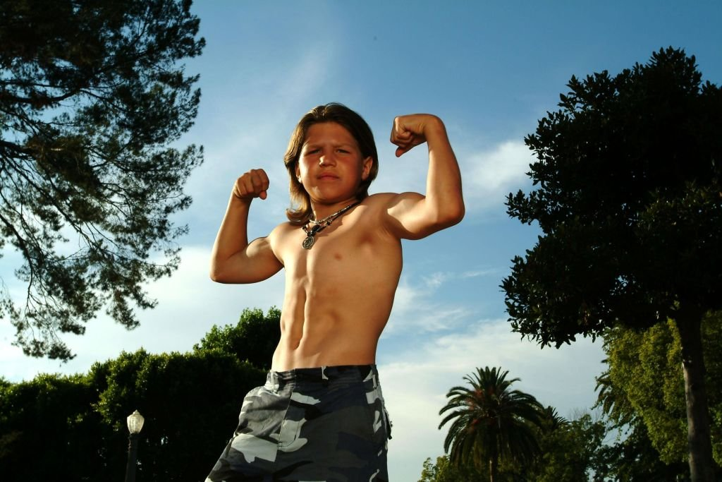 8-Year Old Bodybuilder Who Became Known As 'Little Hercules'