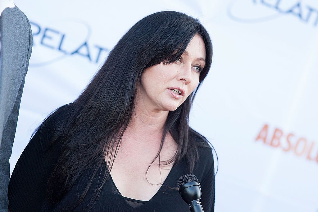 Image Credit: Getty Images / Shannon Doherty on June 11, 2014 in Santa Monica, California.