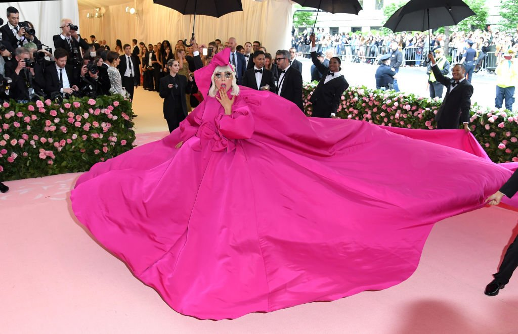 Image Credit: Getty Images / Lady Gaga arrives for the 2019 Met Gala celebrating Camp: Notes on Fashion at The Metropolitan Museum of Art on May 06, 2019.