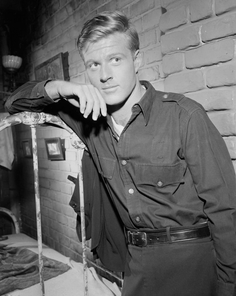 Image Credits: Getty Images / CBS Photo Archive | American actor Robert Redford on an episode of the television show 'The Twilight Zone' entitled 'Nothing in the Dark' (directed by Lamont Johnson), Culver City, California, April 17, 1961.