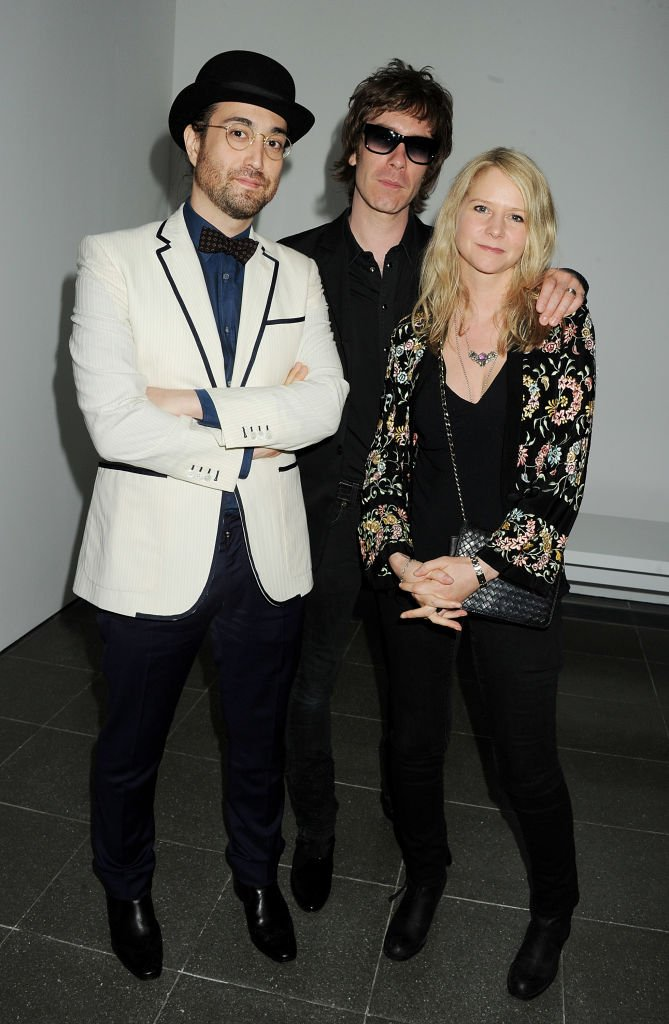 Image Credits: Getty Images / Dave M. Benett | (L to R) Sean Lennon, Jay Mehler and Lee Starkey attend a Council Reception launching Yoko Ono's exhibition 'To The Light' at The Serpentine Gallery on June 18, 2012 in London, England.