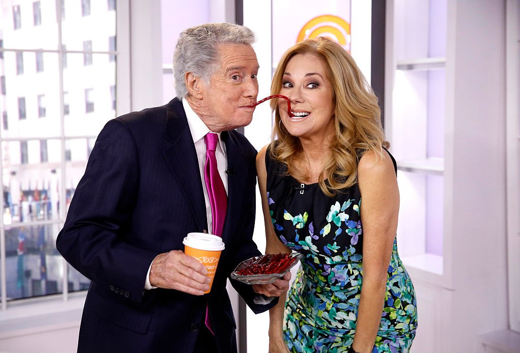 "Image Credits: Getty Images / Peter Kramer / NBC / NBC Newswire / NBCUniversal | Regis Philbin and Kathie Lee Gifford appear on NBC News' ""Today"" show."