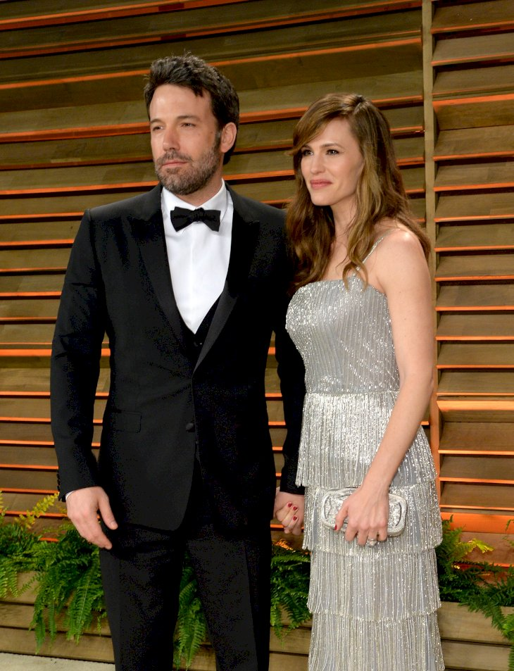 Image Credit: Getty Images/VF14/Getty Images for Vanity Fair/Larry Busacca |Ben Affleck and actress Jennifer Garner attend the 2014 Vanity Fair Oscar Party
