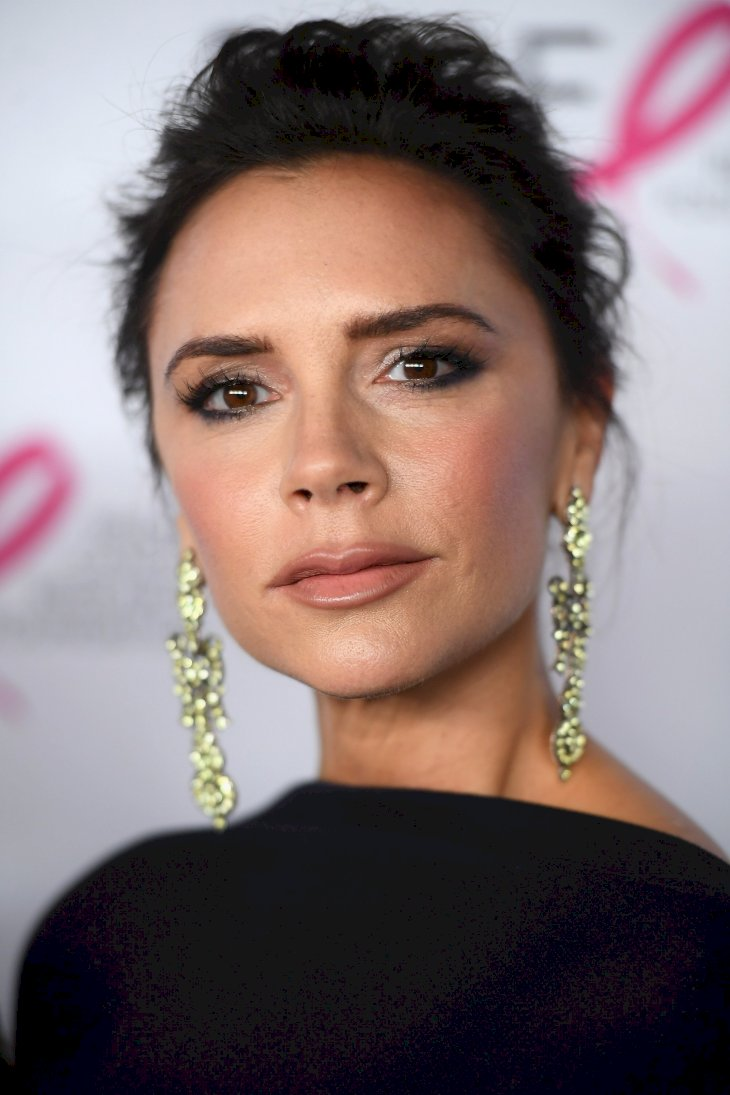 Image Credit: Getty Images / Victoria Beckham on the red carpet.