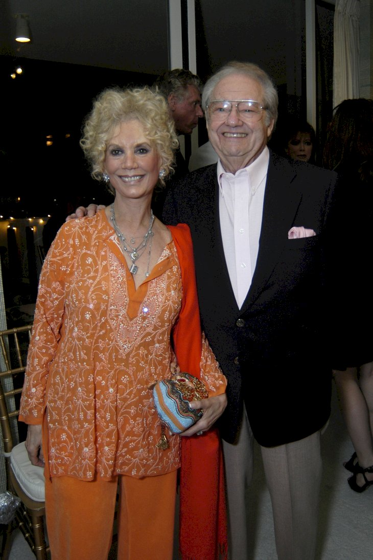 Image Credit: Getty Images/Patrick McMullan/ANDREAS BRANCH | Barbara Cowan and Warren Cowan attend Nikki Haskell Birthday Celebration in 2007