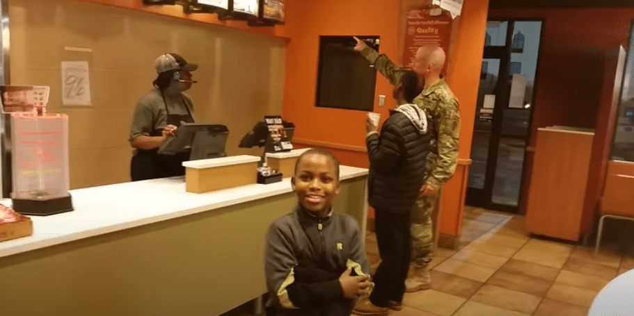 A Soldier's Act Of Kindness Goes Viral