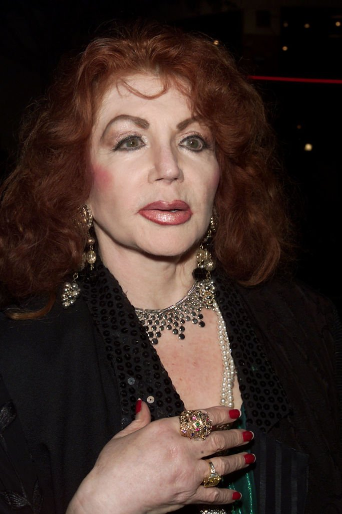 Image Credits: Getty Images / Kevin Winter / ImageDirect | Jackie Stallone at the premiere of 'Get Carter' at the Bruin Theater, Westwood, California.