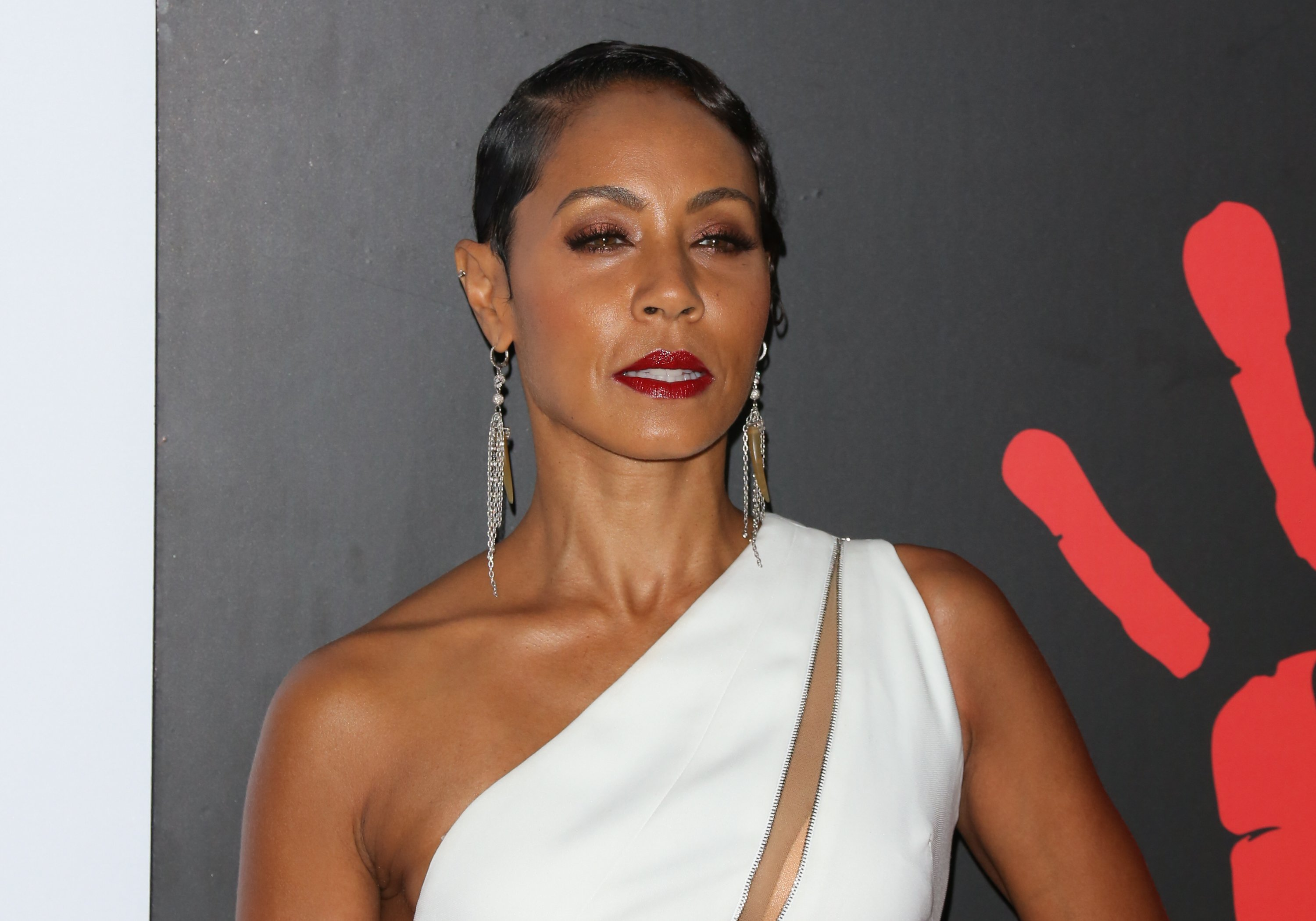 Image Credits: Getty Images / Paul Archuleta | Actress Jada Pinkett Smith attends the 2nd Annual Diamond Ball at The Barker Hanger on December 10, 2015 in Santa Monica, California.