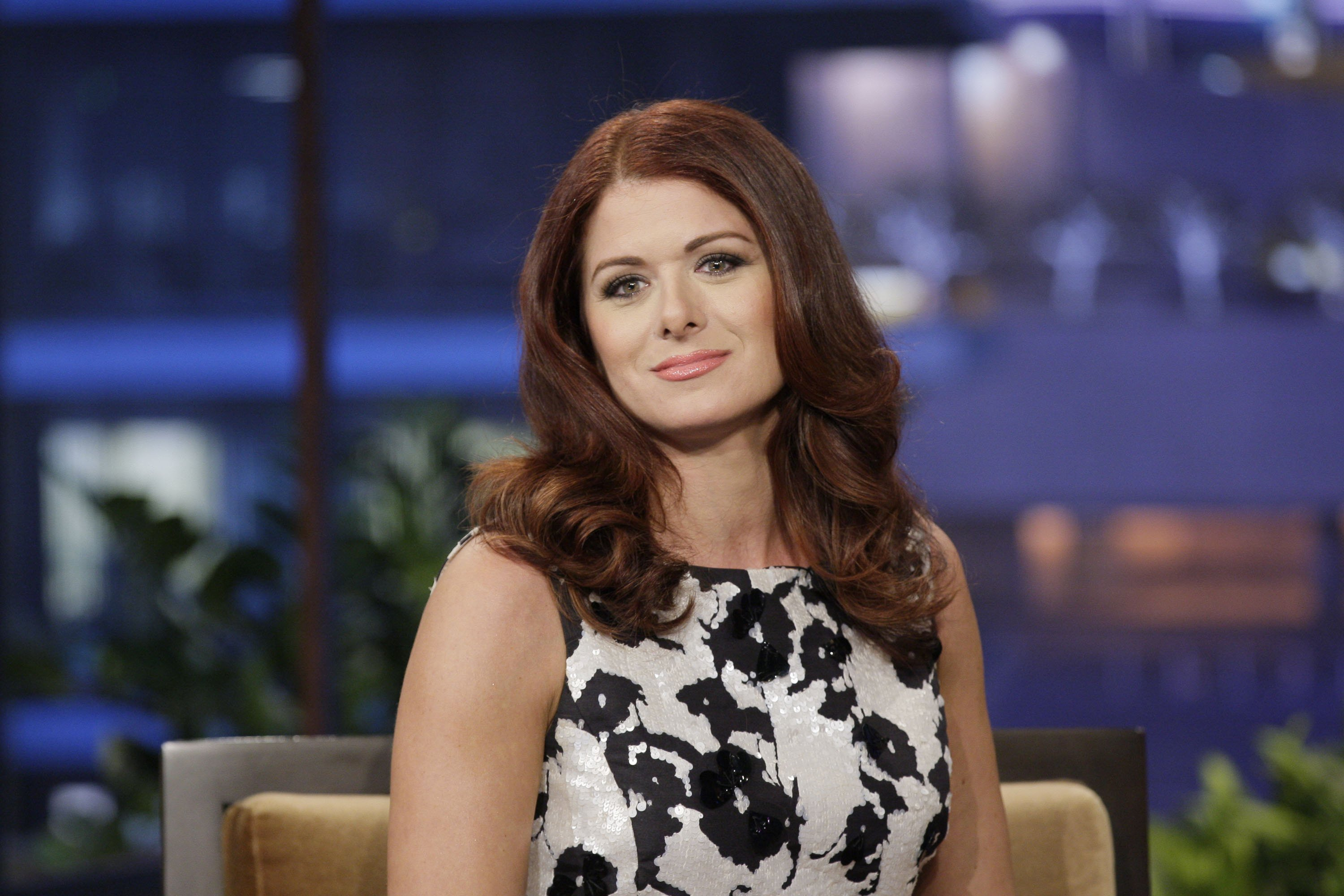 Image Source: Getty Images| Debra Messing in an interview