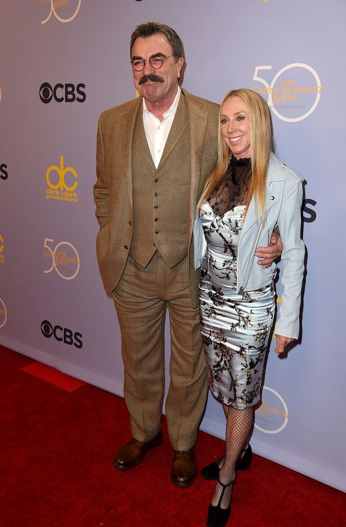 Image Credits: Getty Images | Tom and Jillie at The Carol Burnett 50th Anniversary Special on October 2017