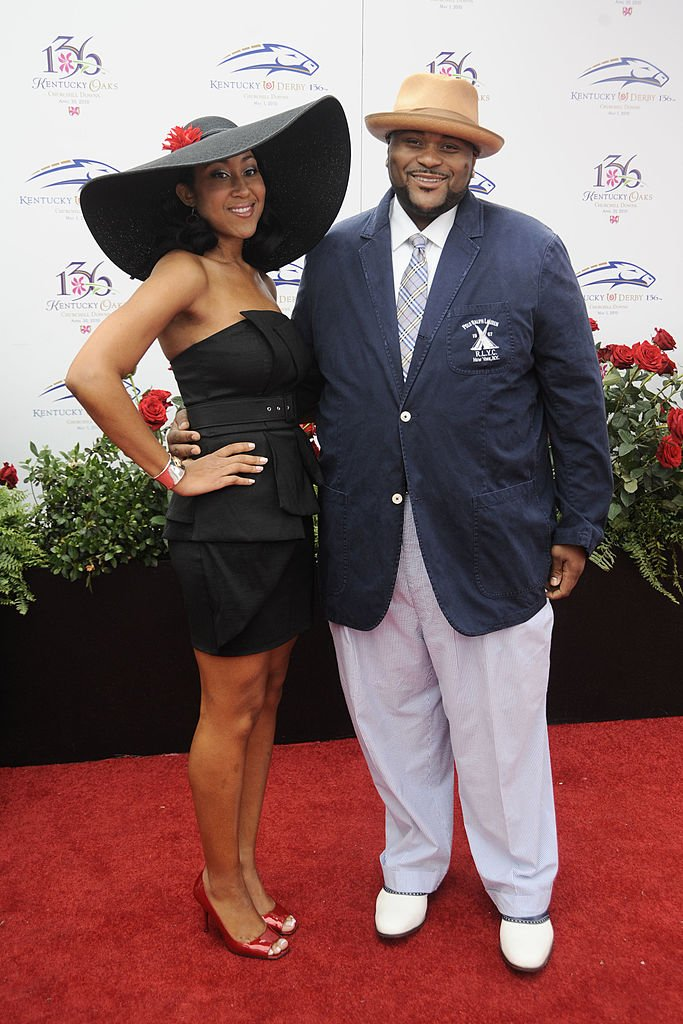 Image Source: Getty Images/Jeff Gentner | Rubben and McCants at the Kentucky Derby 2010