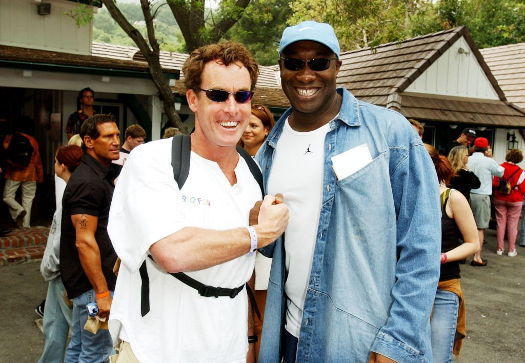Image Credit: Getty Images / John C. McGinley and Michael Clark Duncan at The Target A Time for Heroes Celebrity Carnival Benefitting the Elizabeth Glaser Pediatric AIDS Foundation.