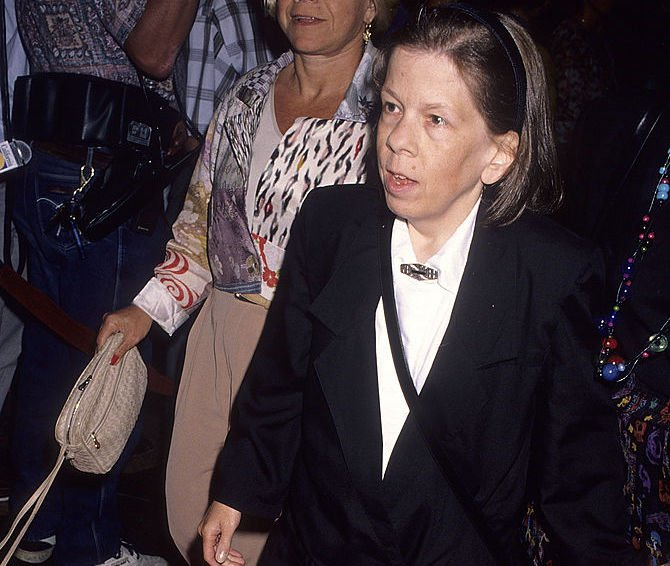 """Image Credit: Getty Images / Actress Linda Hunt attends the """"Presumed Innocent"""" Westwood Premiere on July 25, 1990 at the Mann Bruin Theatre in Westwood, California."""