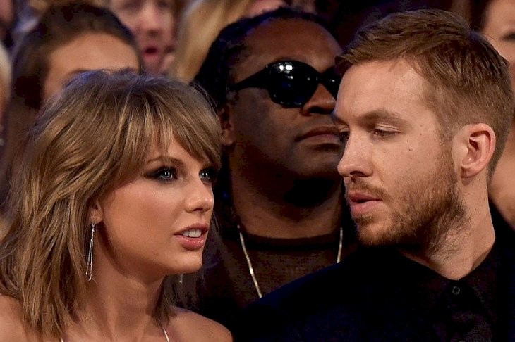 Image Credits: Getty Images / Kevin Winter / BMA2015 | Musicians Taylor Swift (L) and Calvin Harris attend the 2015 Billboard Music Awards at MGM Grand Garden Arena on May 17, 2015 in Las Vegas, Nevada.