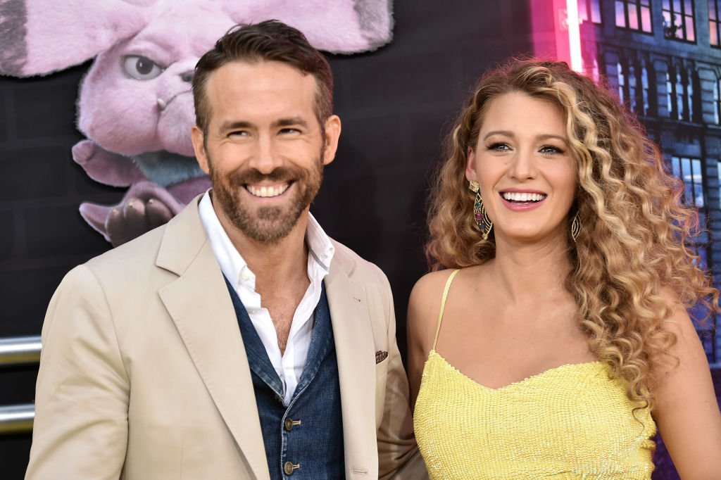 "Image Credit: Getty Images / Ryan Reynolds and Blake Lively attend the premiere of ""Pokemon Detective Pikachu"" at Military Island in Times Square on May 2, 2019 in New York City."