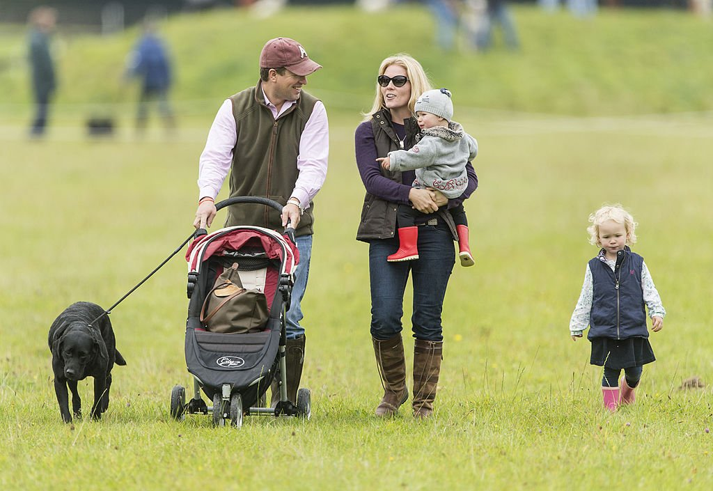 Image Credit: Getty Images / Peter Phillips, Autumn Phillips, Isla Phillips and Savannah Phillips attend the Gatcombe Horse Trials in September at Minchinhampton, England