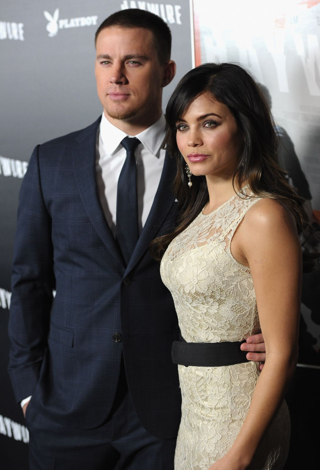 Channing Tatum and Jenna Dewan attending a red carpet event/Photo:Getty Images