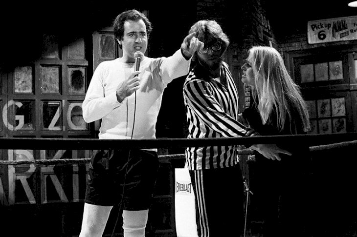 Image Credits: Getty Images / Andy Kaufman and Bob Zmuda on Saturday Night Live