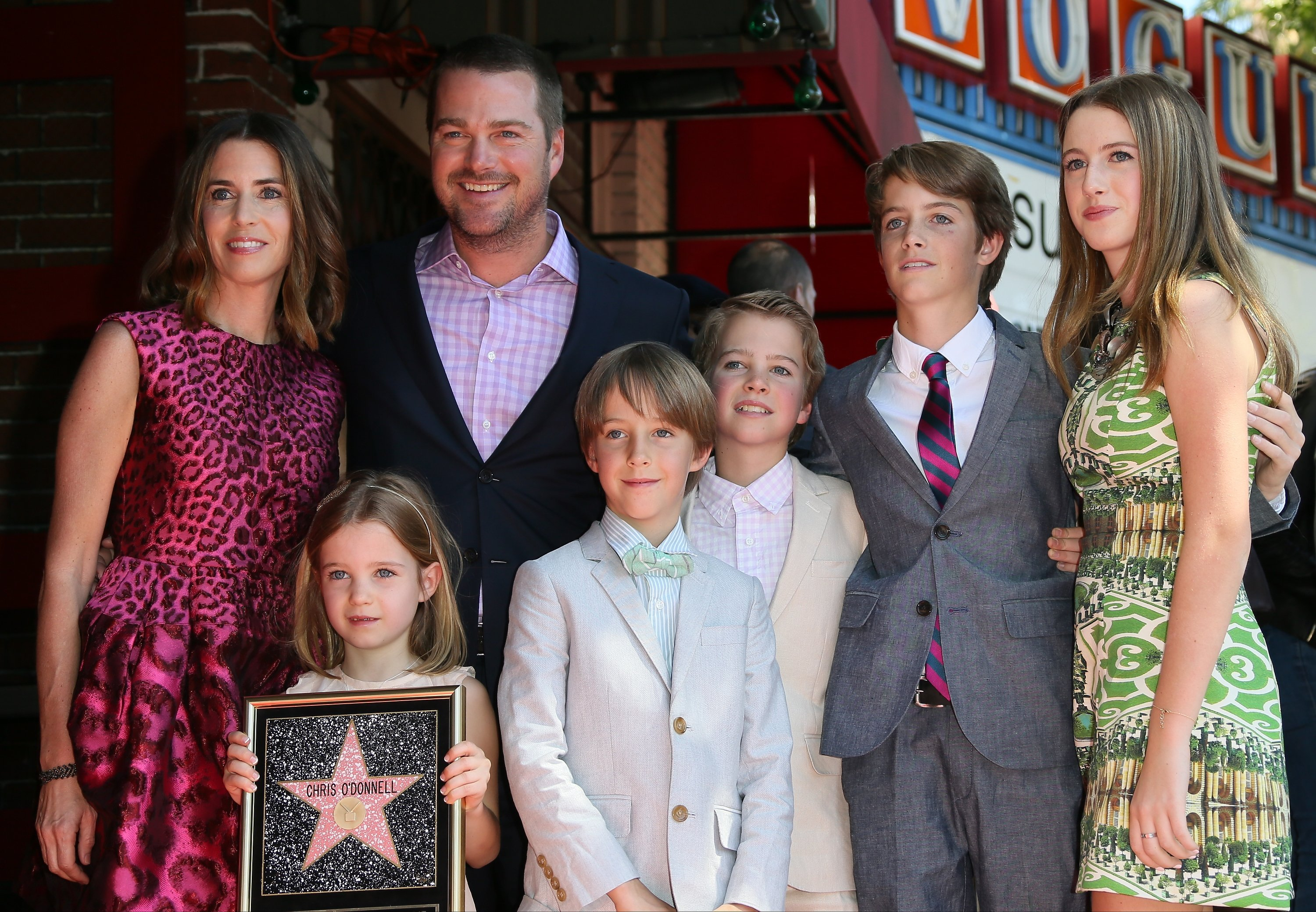 Image Source: Getty Images/Chris with his family