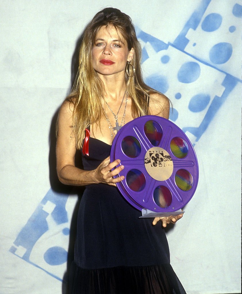 "Image Credits: Getty Images / Albert L. Ortega / WireImage | Linda Hamilton, winner Best Female Performance and Most Desirable Female ""T2""."
