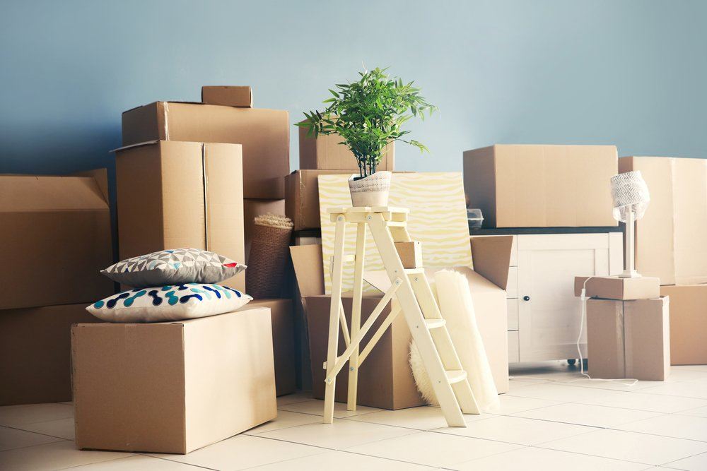 Moving out of her apartment | Shutterstock