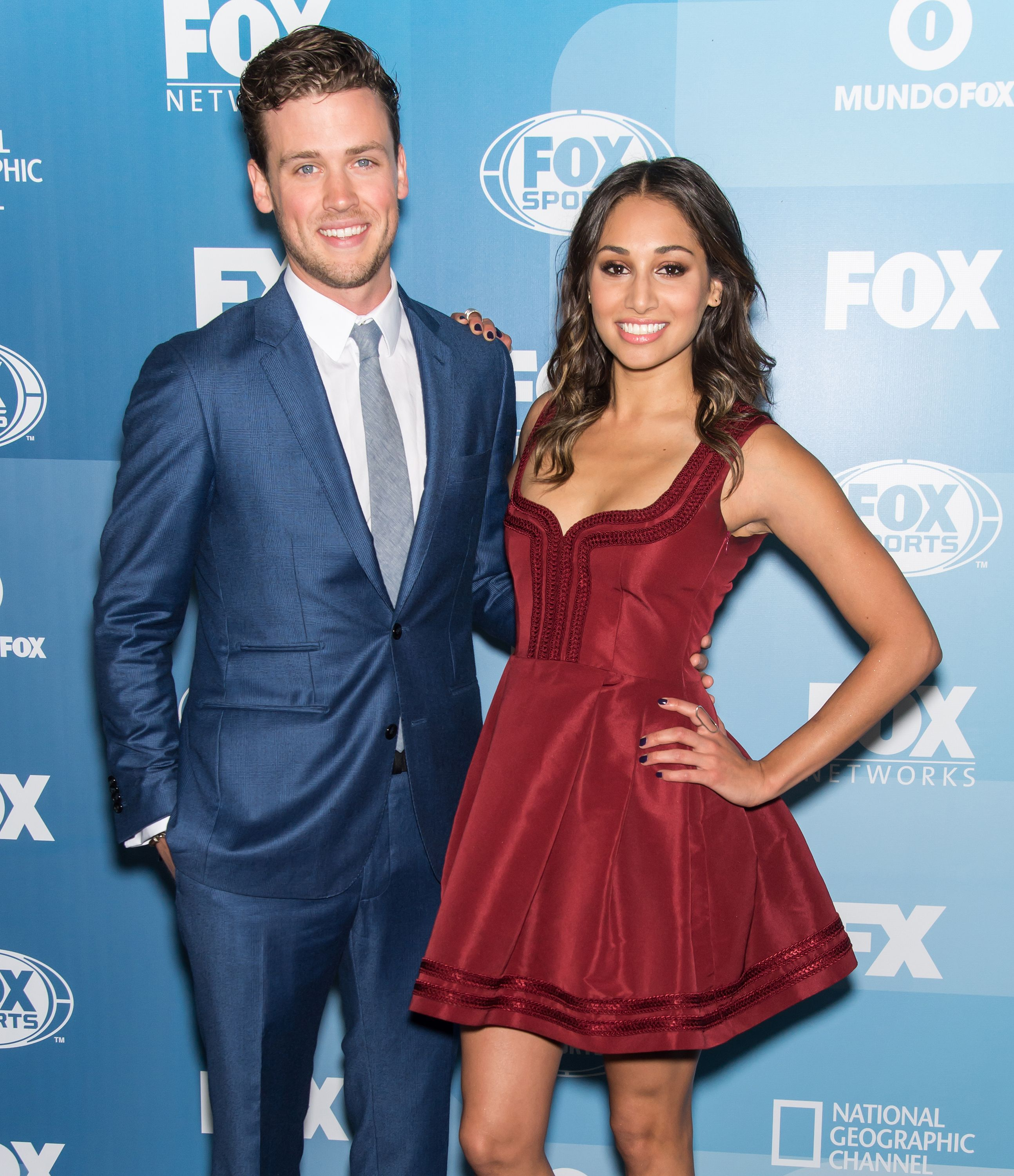ack Cutmore-Scott and Meaghan Rath attend 2015 FOX Programming Presentation / Photo: Getty Images