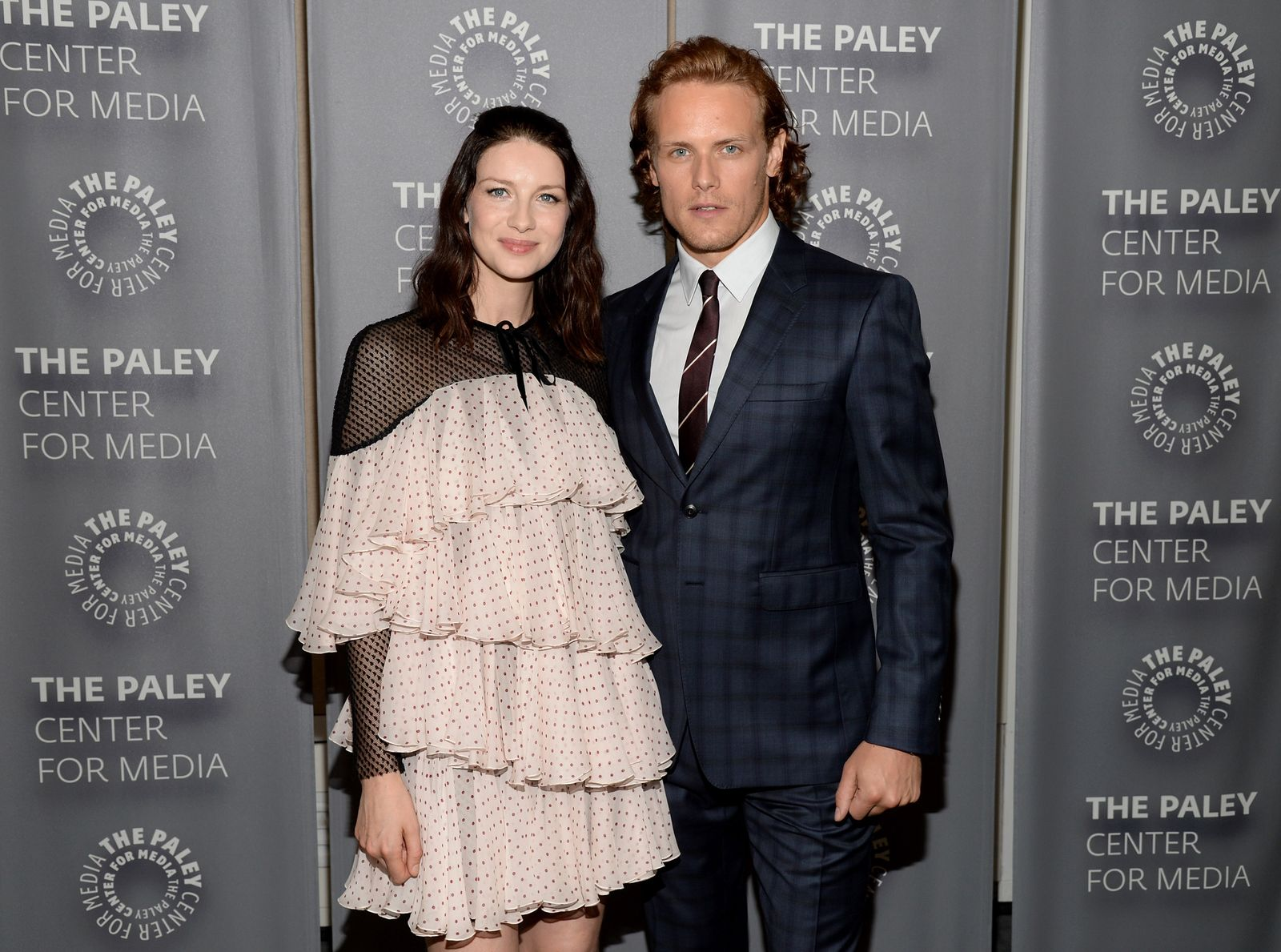 Caitriona Balfe and Sam Heughan - The Paley Center for Media presents The Artistry of Outlander/Photo:Getty Images
