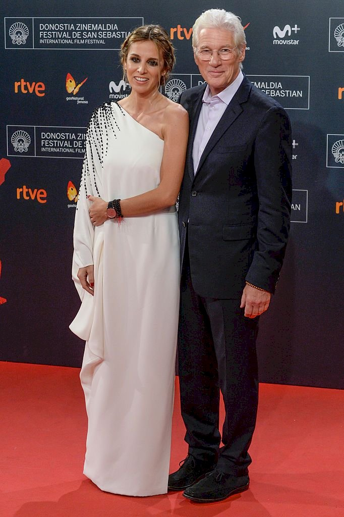 Richard Gere and Alejandra Silva/Photo:Getty Images