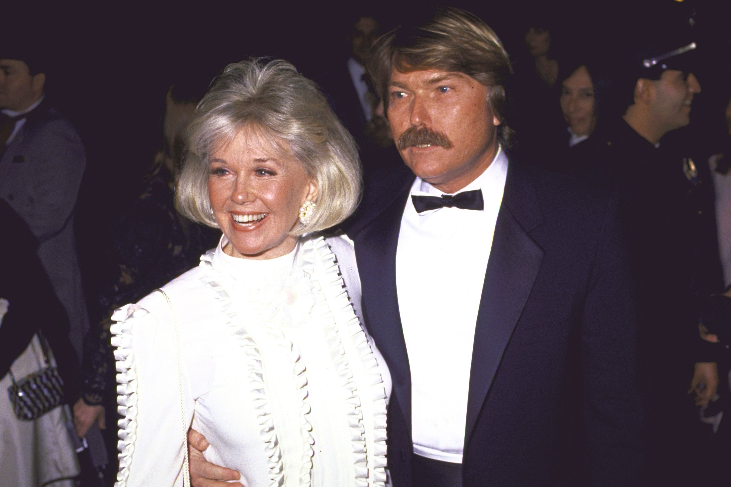 Image Credits: Getty Images / David Mcgough / DMI / The LIFE Picture Collection | Singer/actress Doris Day (1922 - 2019) and son Terry Melcher.