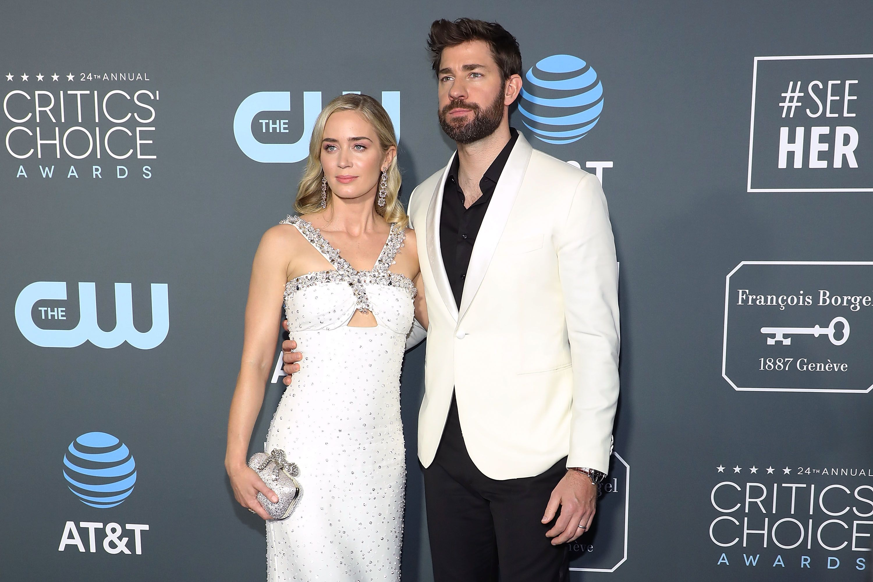 John Krasinski has been happily married to Emily Blunt / Getty Images