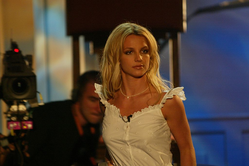 Image Credit: Getty Images / Britney Spears during a video production.