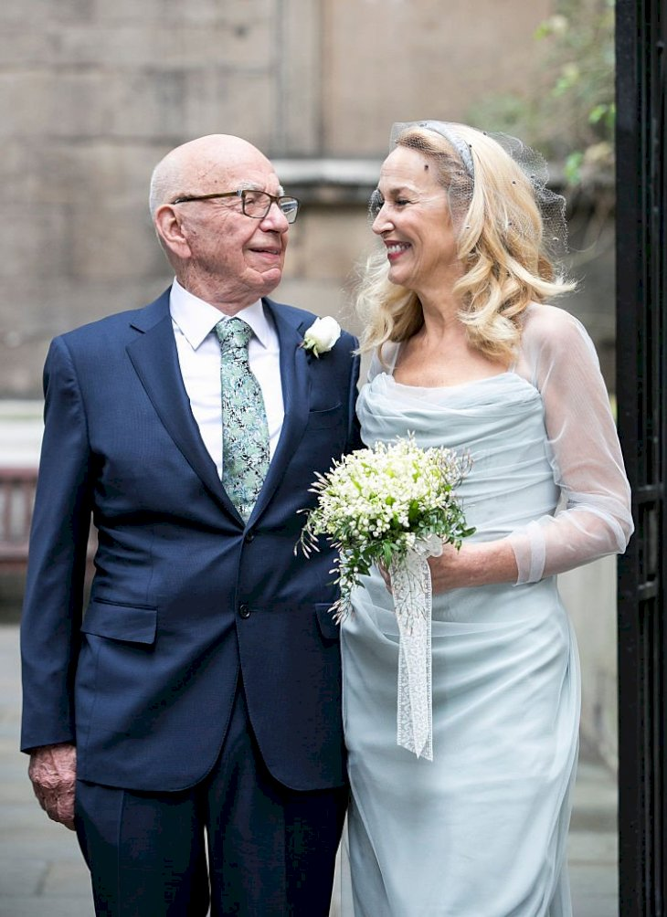 Image Credits: Getty Images / John Phillips | Rupert Murdoch and Jerry Hall.