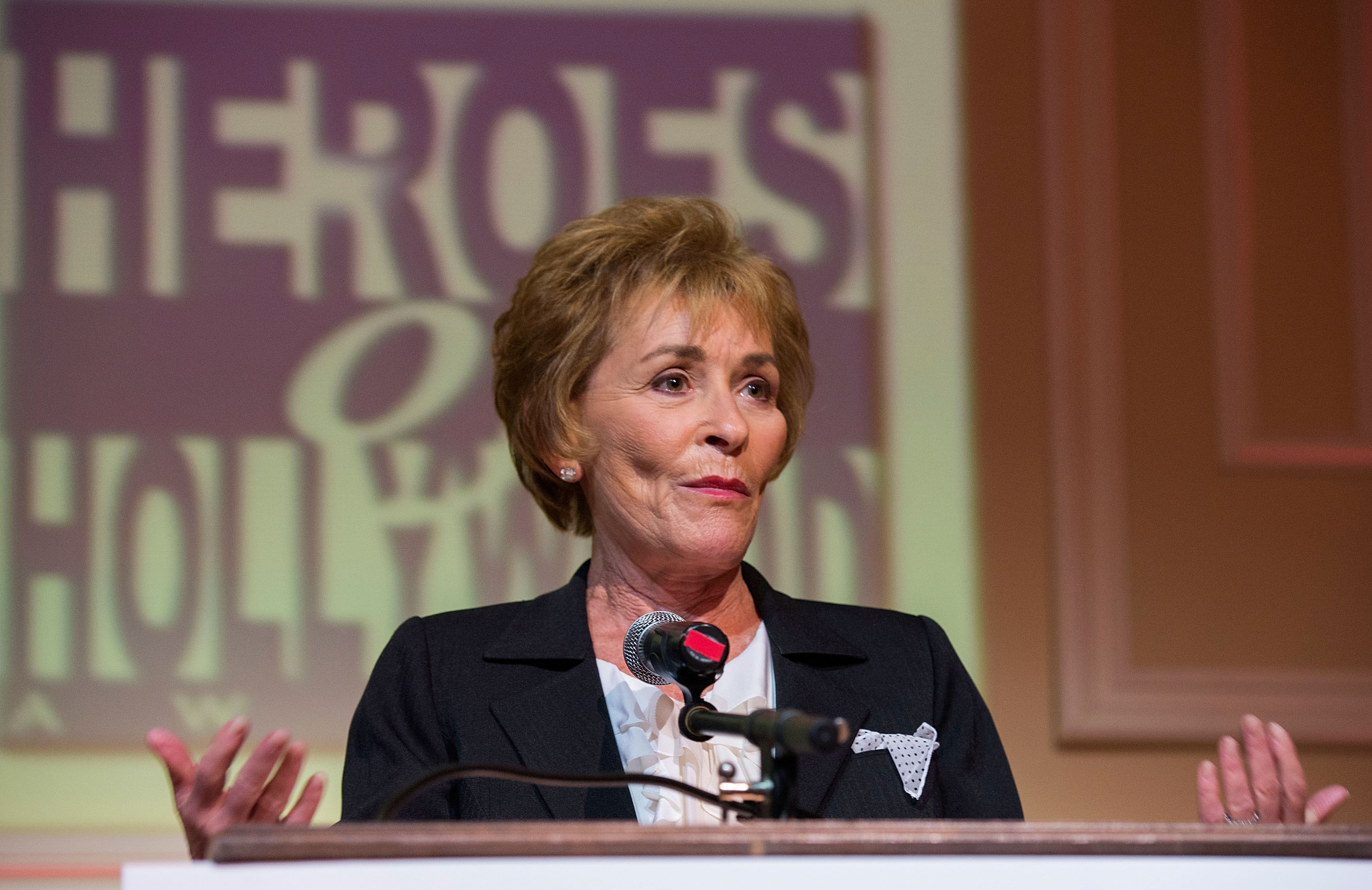 Judge Judy Image Source: Getty Images.