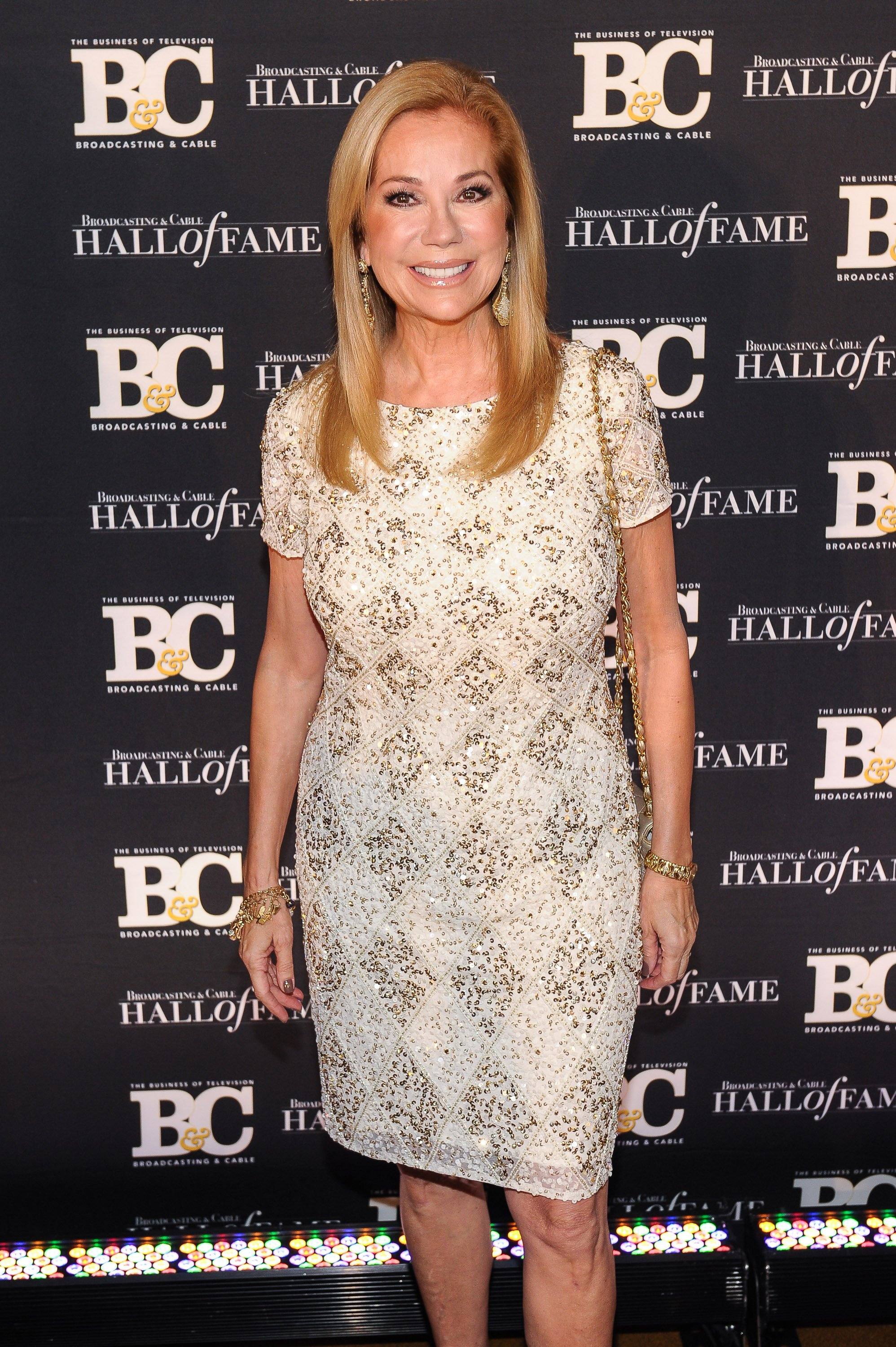 Image Credits: Getty Images / Rommel Demano | Kathie Lee Gifford attends Broadcasting and Cable Hall Of Fame Awards 25th Anniversary Gala at The Waldorf Astoria on October 20, 2015 in New York City.