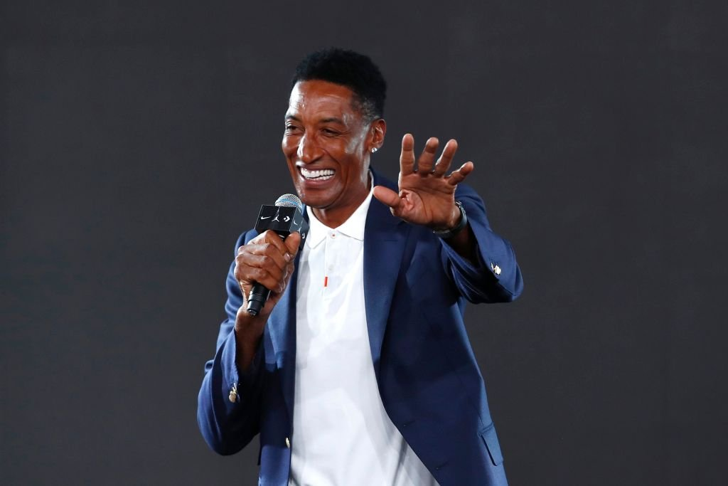 Image Credits: Getty Images / Fu Tian / China News Service / Visual China Group | American former basketball players Scottie Pippen attends Nike jersey launch event ahead of FIBA Basketball World Cup 2019 on August 8, 2019 in Beijing, China.