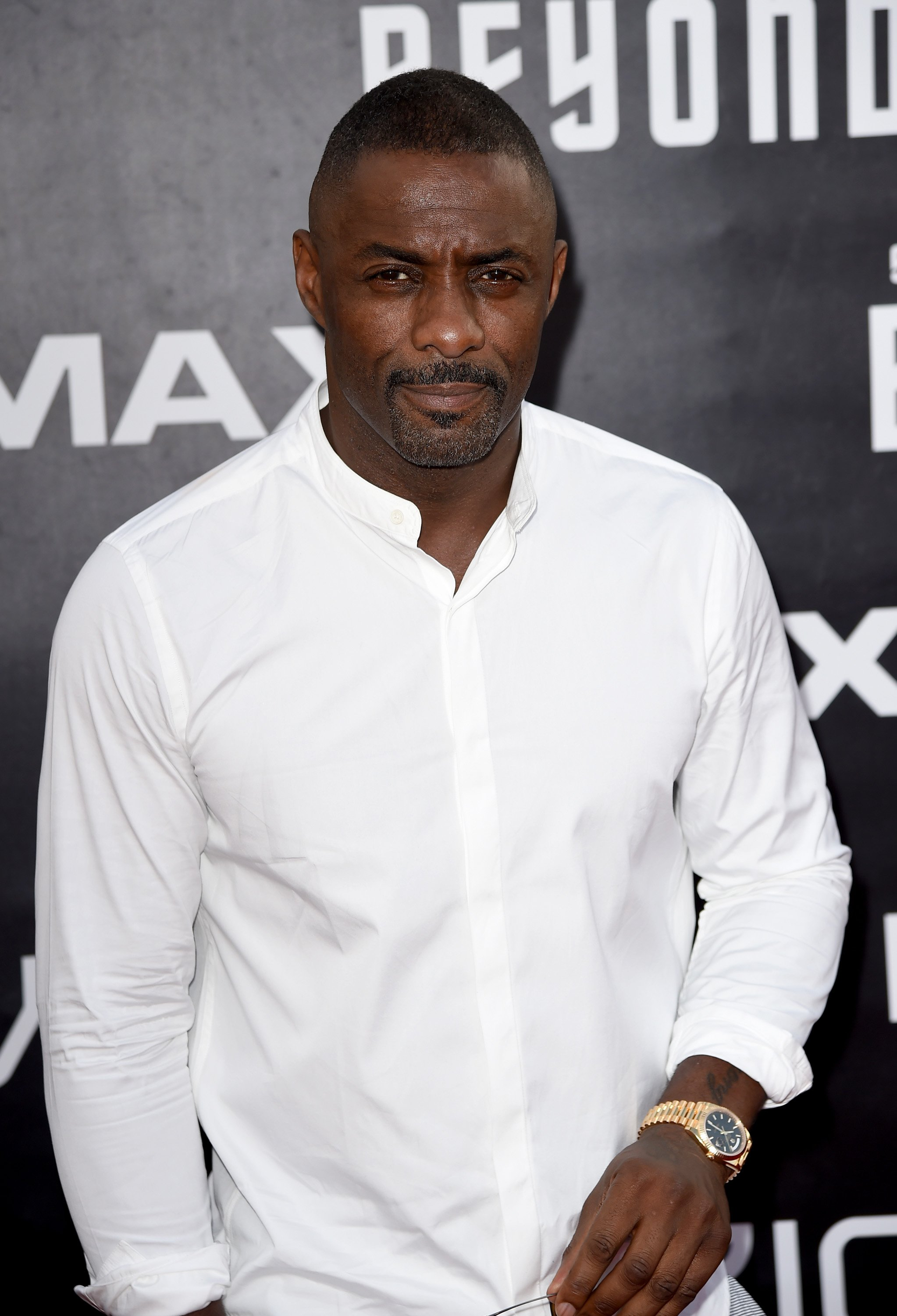 Image Credit: Getty Images/Kevin Winter   Elba at the premiere of Star Trek: Beyond