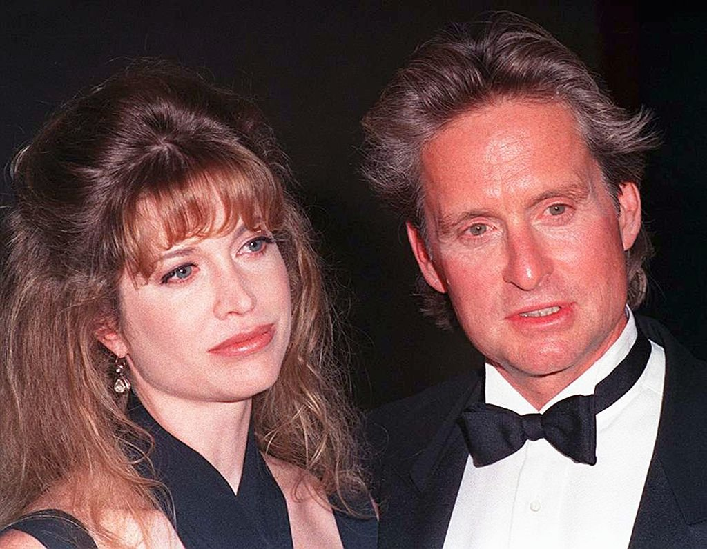 Image Credit: Getty Images / American actor Michael Douglas with his wife Diandra at the American Cinematheque's Eighth Annual Moving Picture Ball in Los Angeles, California, 29th September 1993.