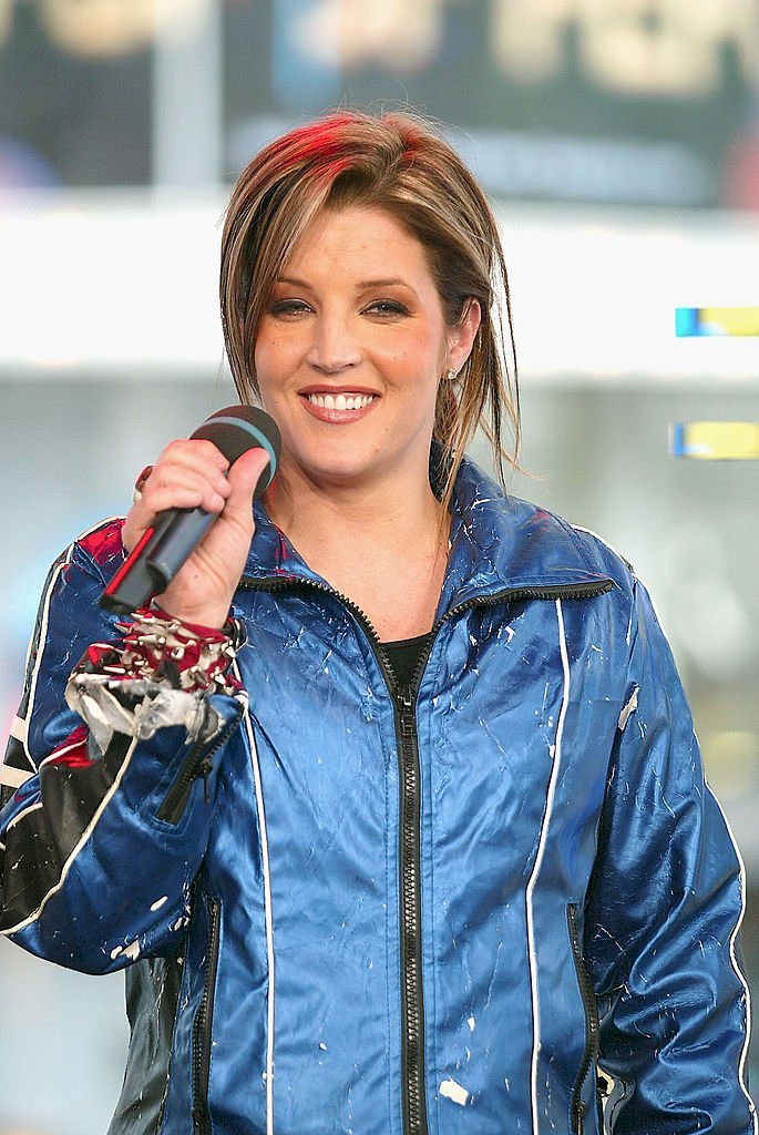 Image Credit: Getty Images / Lisa Marie Presley at an event.