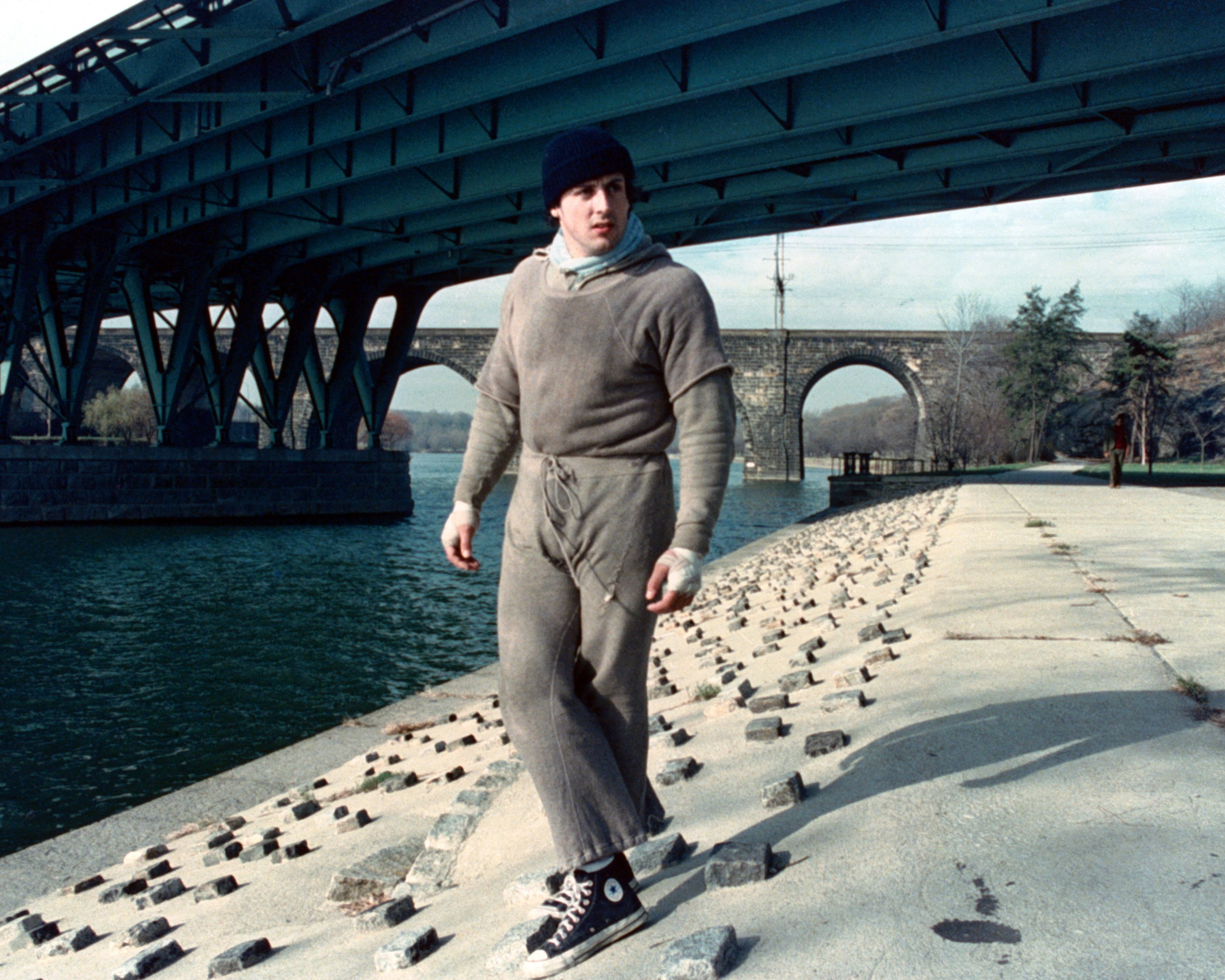 Image Source: Getty Images/Silver Screen Collection | Still of Stallone in Rocky