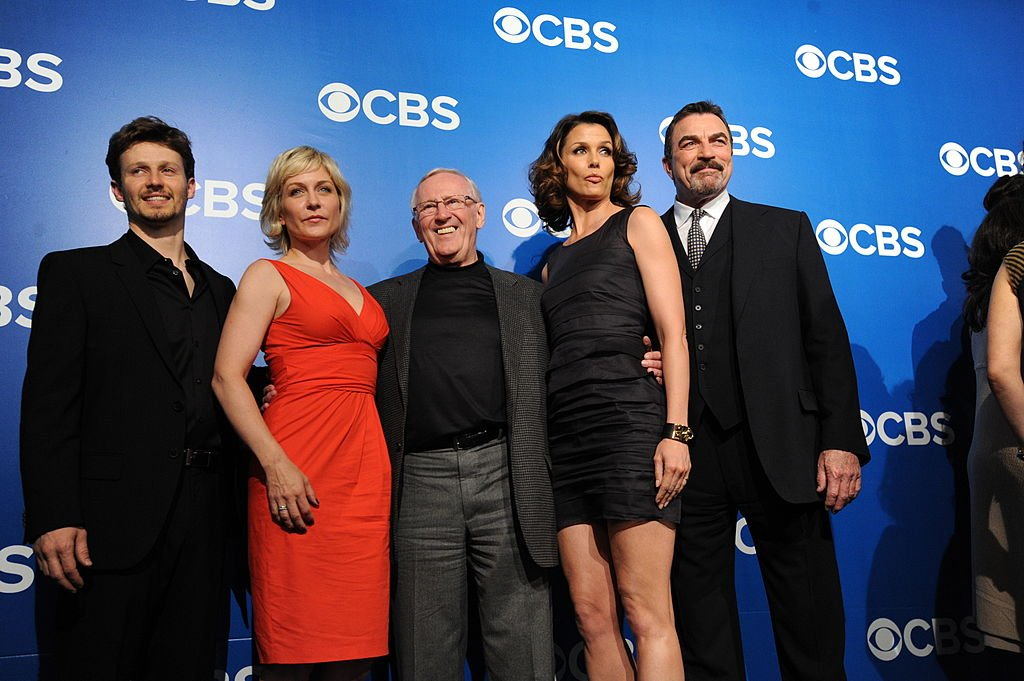 Image Credits: Getty Images/CBS via Getty Images/Heather Wines | Stars of Blue Bloods with the Showrunners