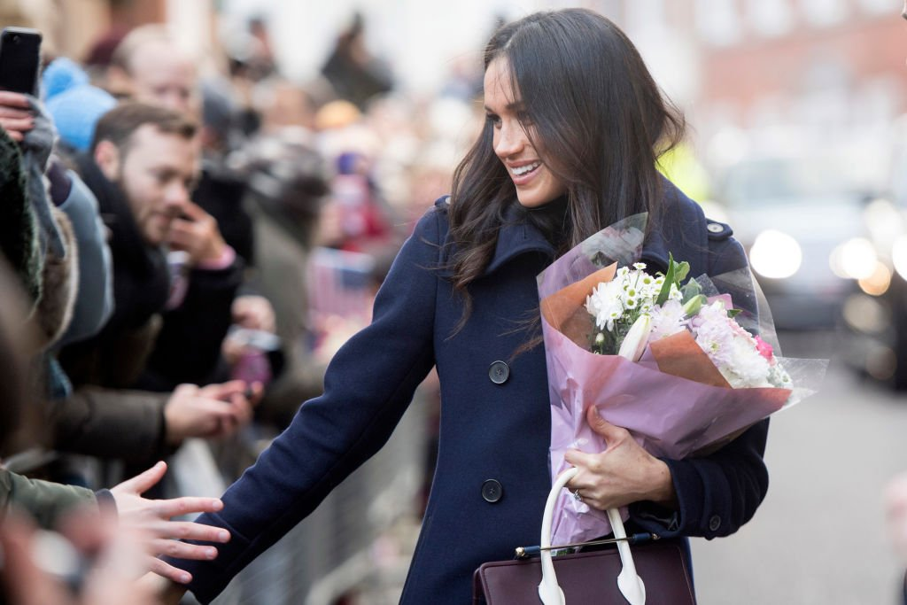 Image Credit: Getty Images / US actress Meghan Markle visits Nottingham for her first official public engagement with Prince Harry on December 1, 2017 in Nottingham, England.