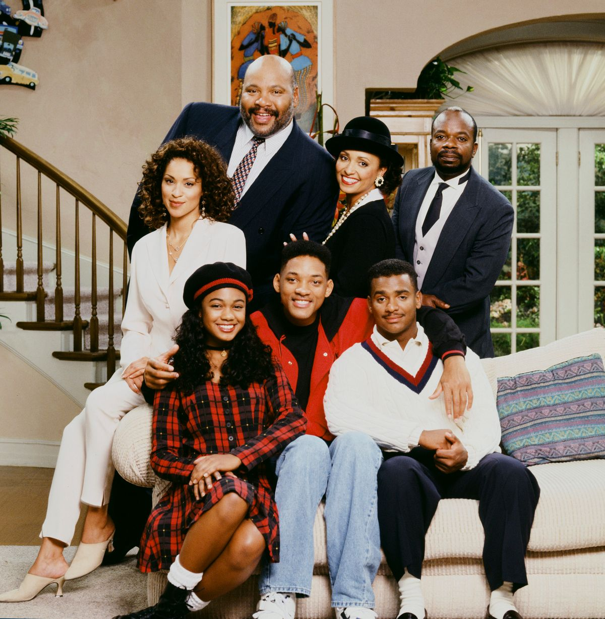 The Fresh Prince of Bel-Air cast/Photo:Getty Images