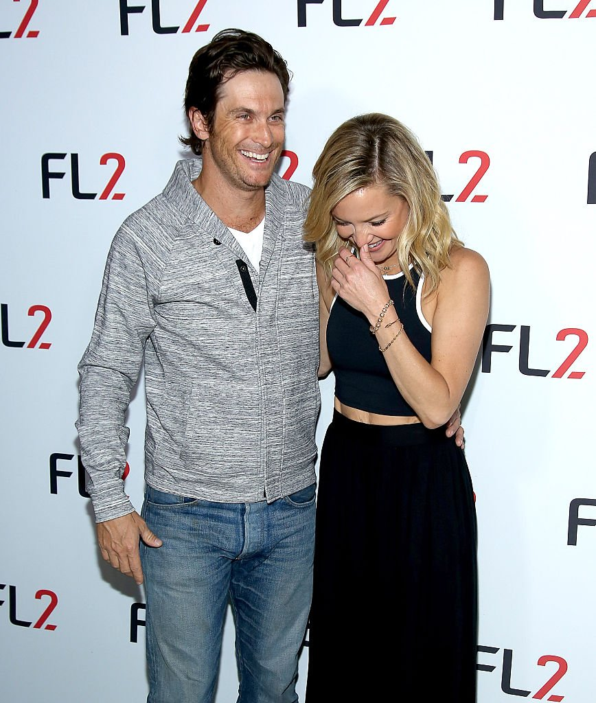 Image Credits: Getty Images / Paul Zimmerman / WireImage | Oliver Hudson (L) and FABLETICS Co-Founder Kate Hudson attends FL2 Launch at Gramercy Terrace at The Gramercy Park Hotel on June 4, 2015 in New York City.