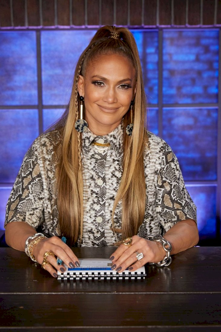 "WORLD OF DANCE -- ""Qualifiers"" Episode 401 -- Pictured: Jennifer Lopez -- (Photo by: Trae Patton/NBC/NBCU Photo Bank via Getty Images)"