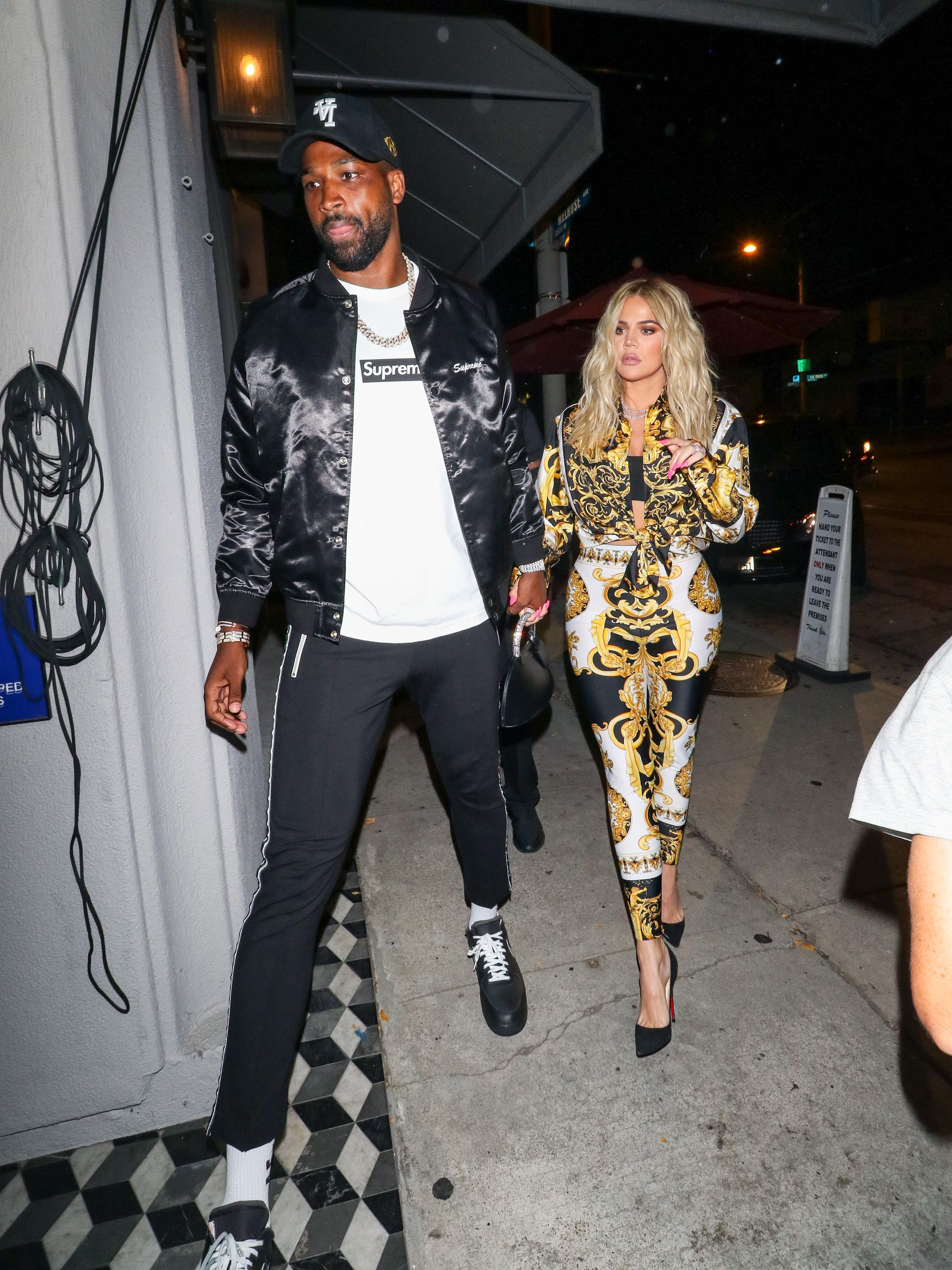 Khloe Kardashian and Tristan Thompson / Getty Images