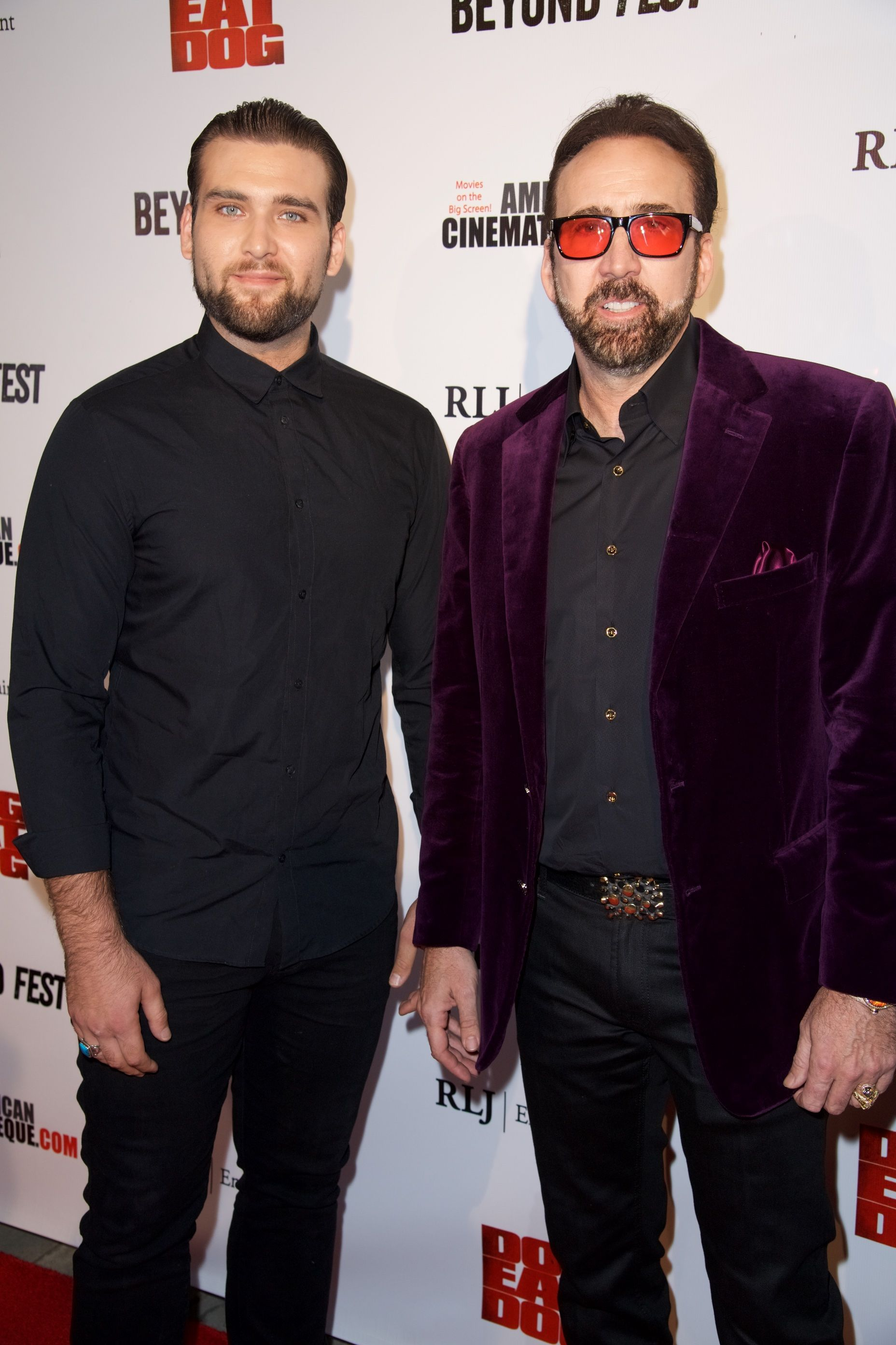 Weston Coppola Cage and Nicolas Cage/Photo:Getty Images