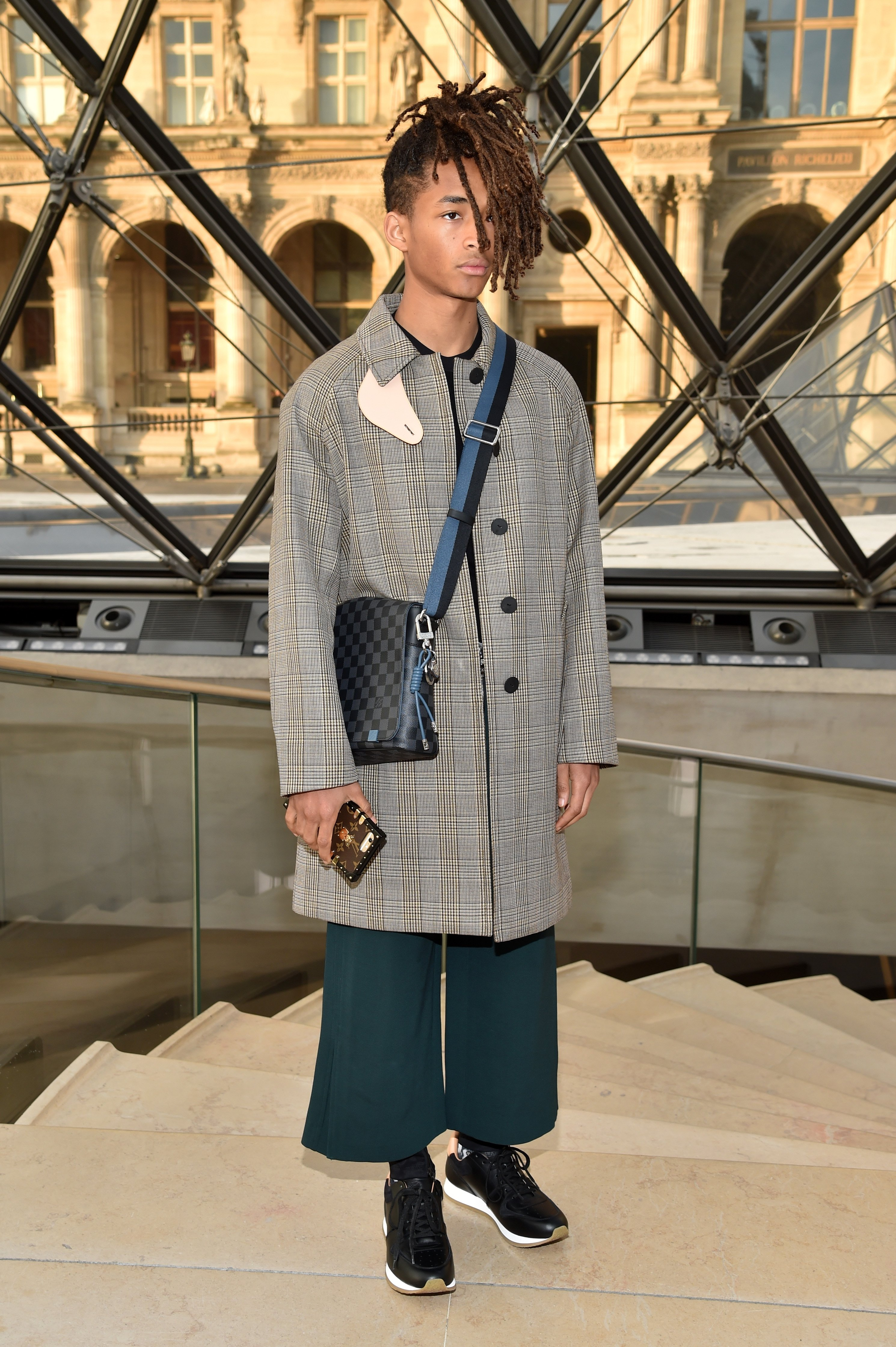 Image Credits: Getty Images / Pascal Le Segretain | Jaden Smith attends the Louis Vuitton show as part of the Paris Fashion Week Womenswear Fall/Winter 2017/2018 on March 7, 2017 in Paris, France.