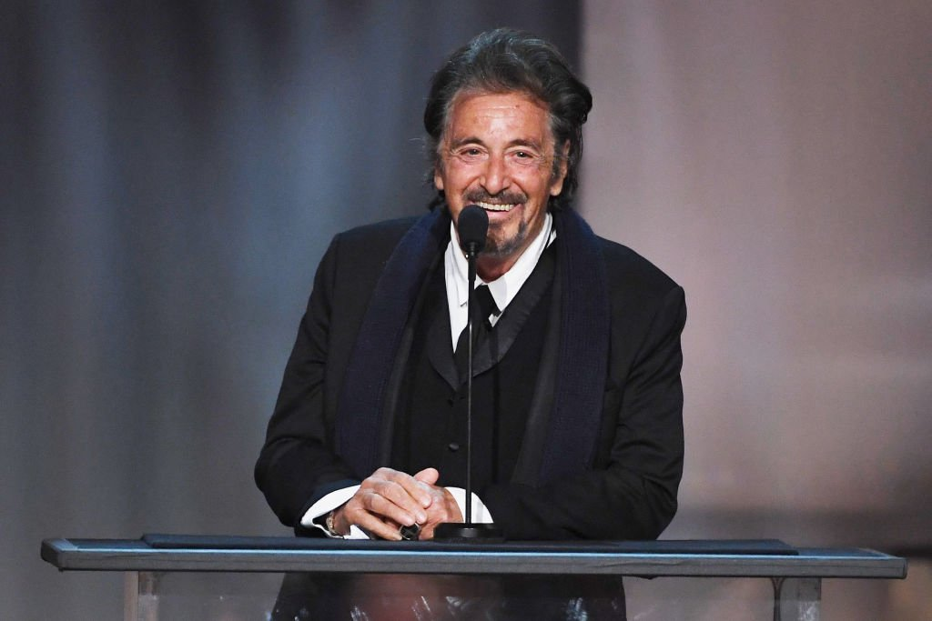 Image Credit: Getty Images/Kevin Winter | Al Pacino speaks onstage during American Film Institute's 45th Life Achievement Award Gala